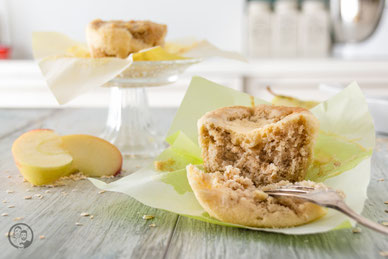 Apfel-Käsekuchen Muffin_Rezept_Backen