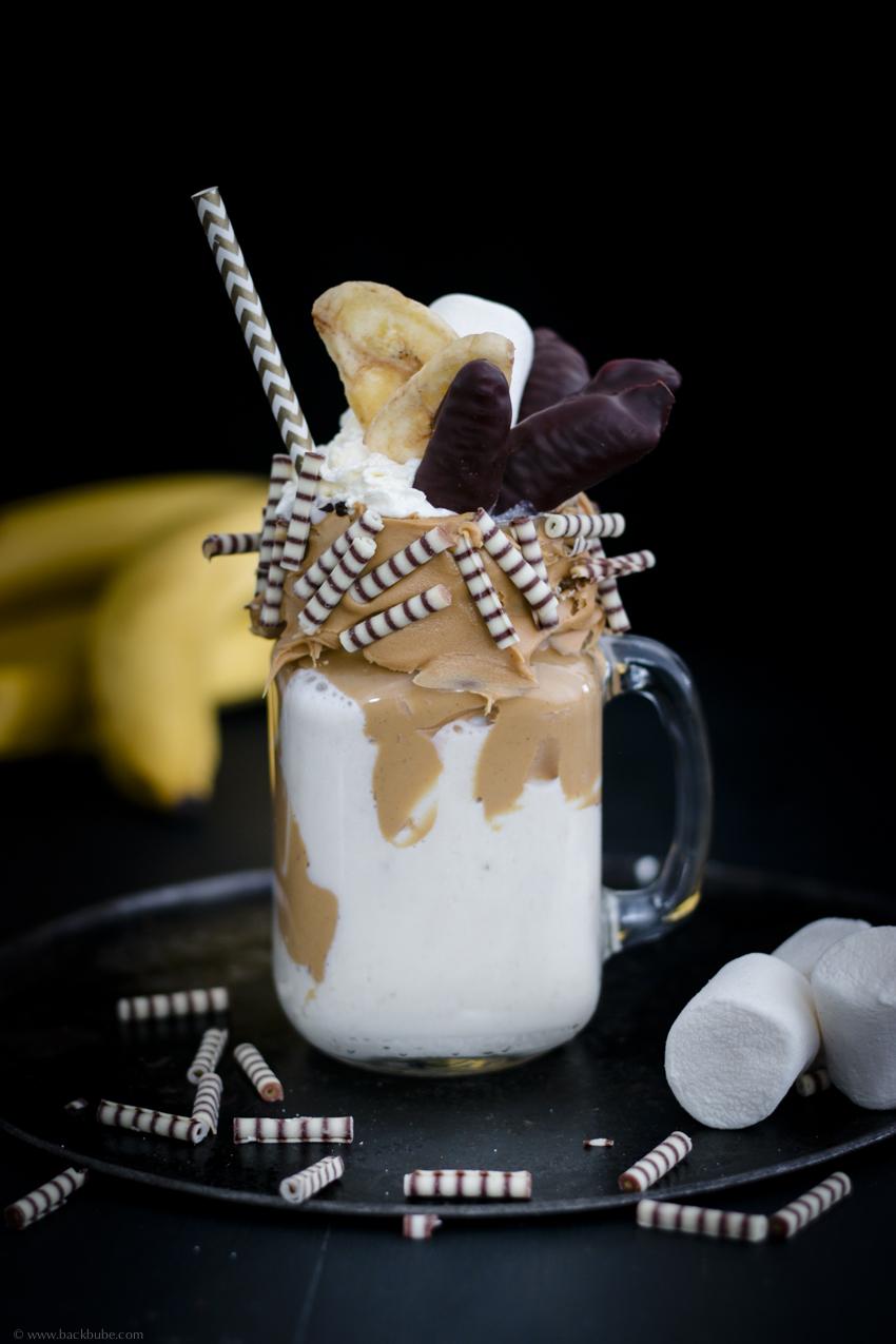 Banana Peanut Freaky Shake_Getränk_USA
