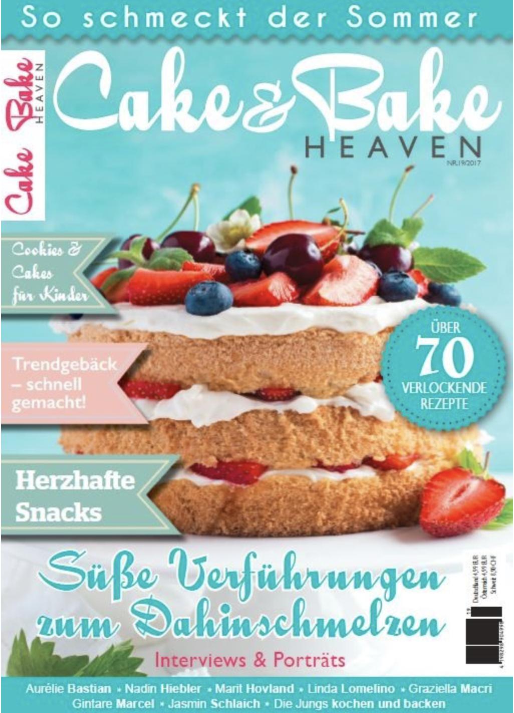 Cake&Bake Heaven_Die Jungs in der Presse_Interview_Rezepte im Magazin