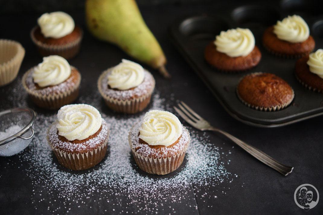 Cupcake_Birne_Marzipan_Rezept_backen_foodblog_blog_köln_natron