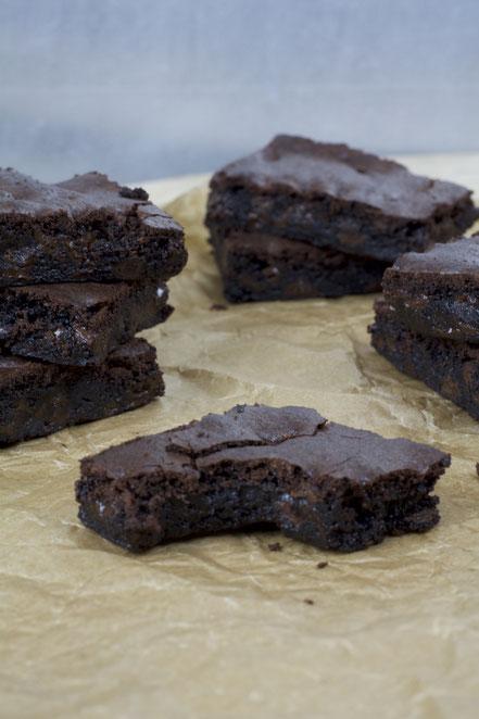 Dark Chocolate Brownies_USA_Rezept_Backen