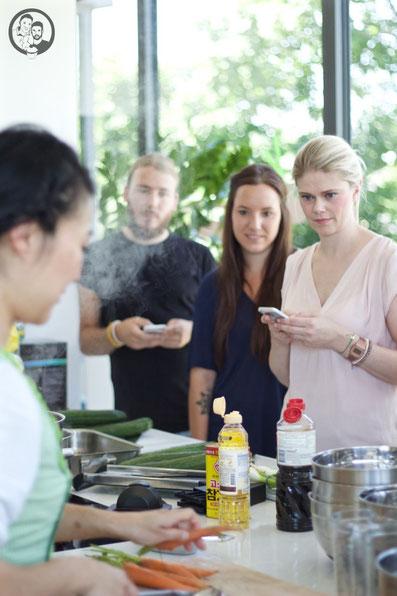 Fräulein Kimchi, Tim, Julia, Tanja