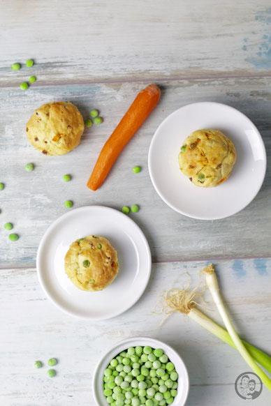 Gemüse-Schinken Muffins_Rezept_Fingerfood_backen