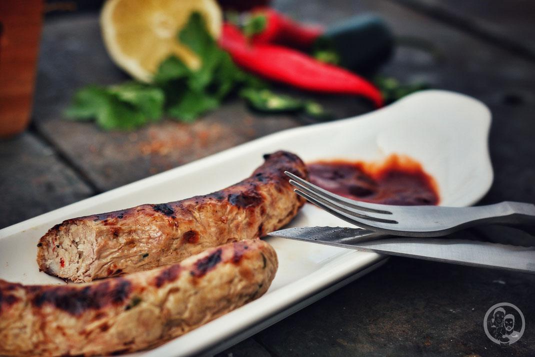 """Grillwurst """"Asia Style""""_Grillen_Rezept_BBQ"""