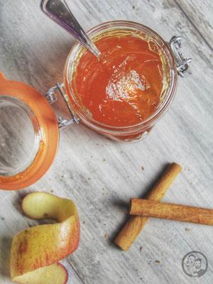 image 9 8 5 8 | Beiunserem letzten Besuch bei Sascha's Eltern in Trier haben wir ja einen mediterranenApfelkuchen gebacken, weil der Apfelbaum im Garten voller reifer saftiger Früchte hing. Der perfekte Apfel für alles, was man in der Küche mit einem Apfel anstellen möchte!