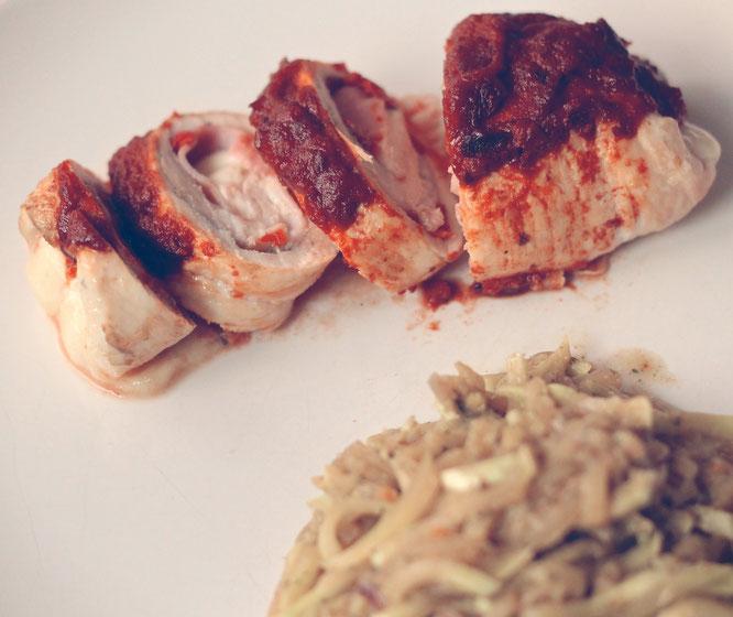 Involtini di pollo (Hähnchenrouladen)