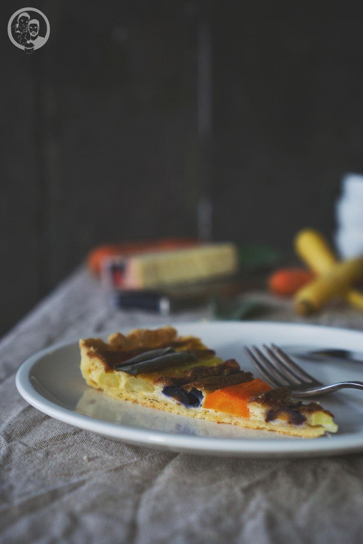 Möhren_karotten_tarte_chefplus_mikrowelle_bauknecht_rezept_blog_foodblog_köln