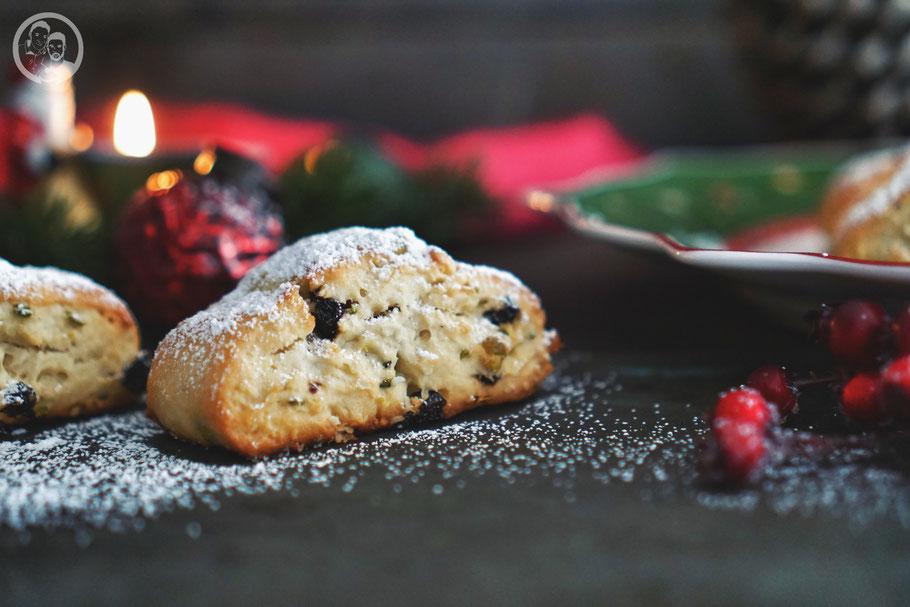 Ministollen_Christstollen_Rezept_ohne Zitronat_ohne Orangeat_Foodblog Köln_Weihnachten