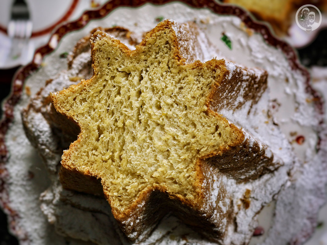 Pandoro Goldenes Brot Die Jungs Kochen Und Backen Der Foodblog