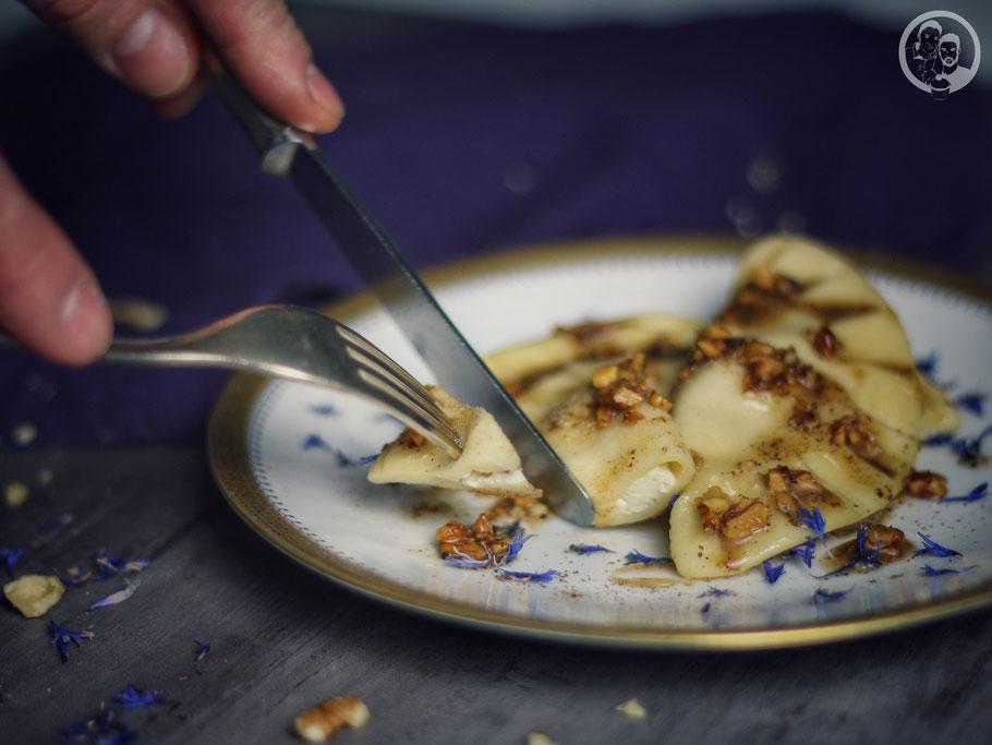 Ravioli mit Ricotta-Steinpilz-Füllung_Vorspeise_kochen_Rezept