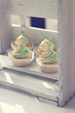 Rum Cupcakes mit Vanilletopping