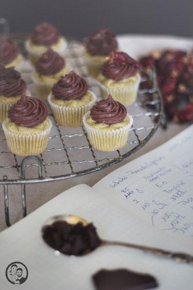 Schoko Avocado Cupcakes