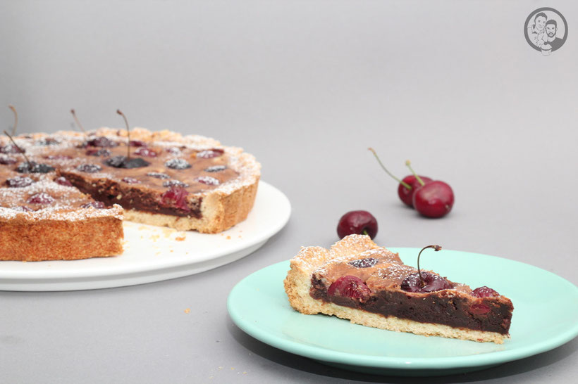 Schoko-Kirsch Tarte