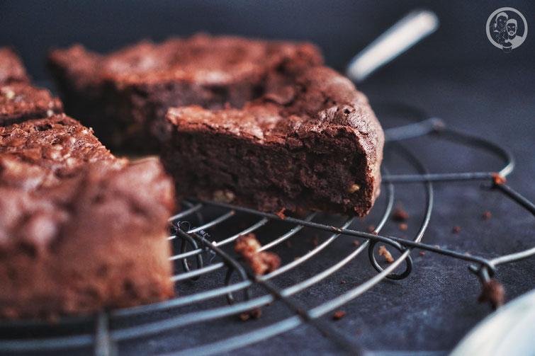 Schoko-Walnusstarte_Birnensorbet_Kenwood Küchenparty 2.0_KKP_Dessert_backen