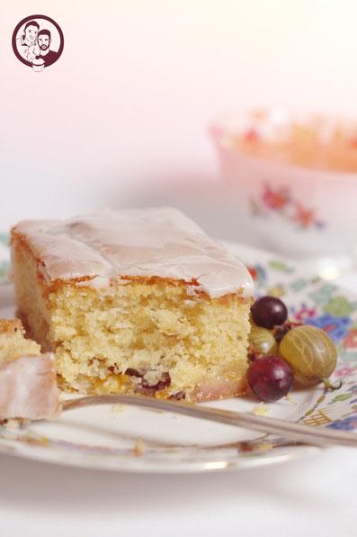 Stachelbeer Rosmarin Kuchen