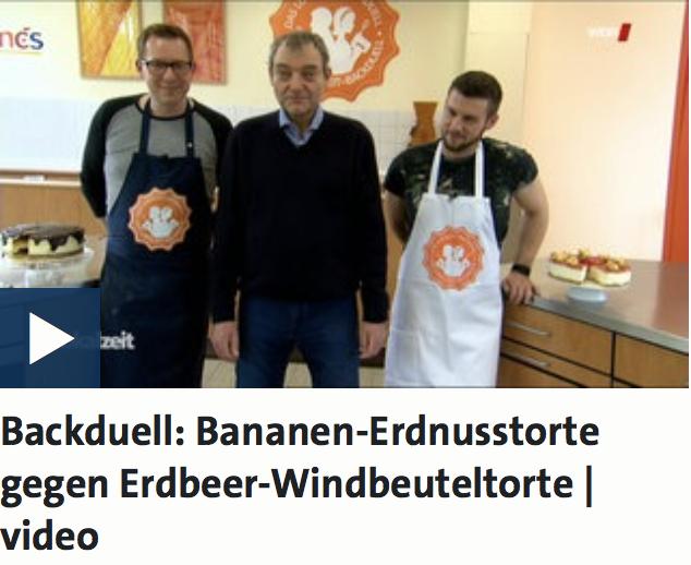 WDR_Backduell_Die Jungs backen gegeneinander_TV Auftritt