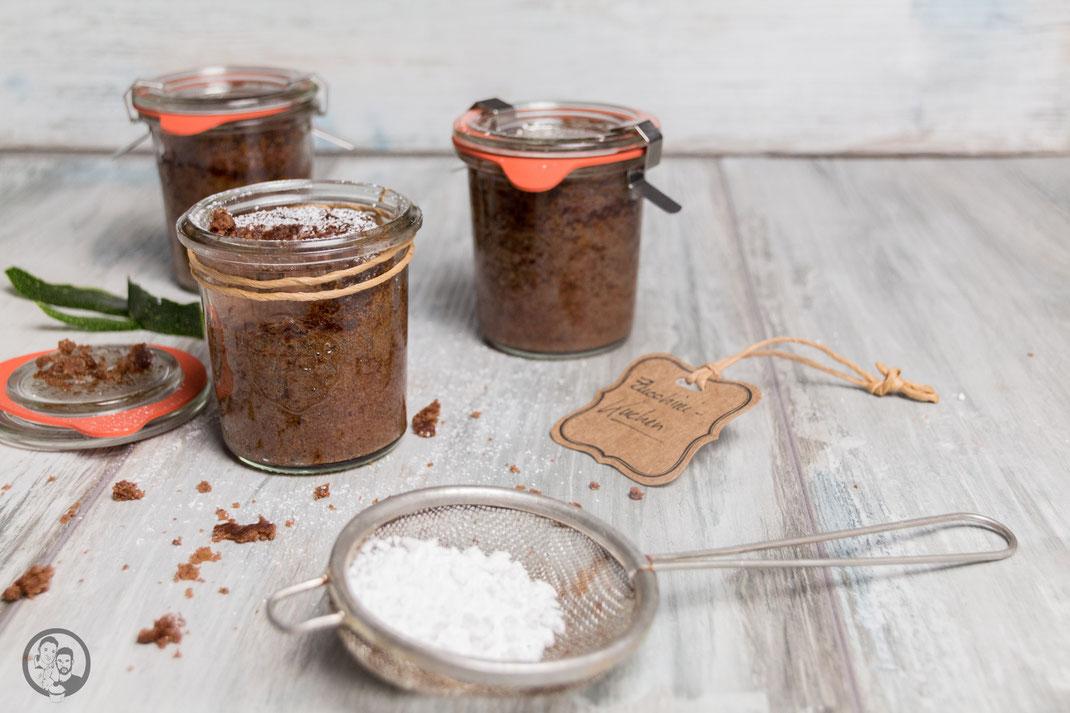 Zucchini-Kuchen im Glas_Rezept_Backen_Geschenkidee