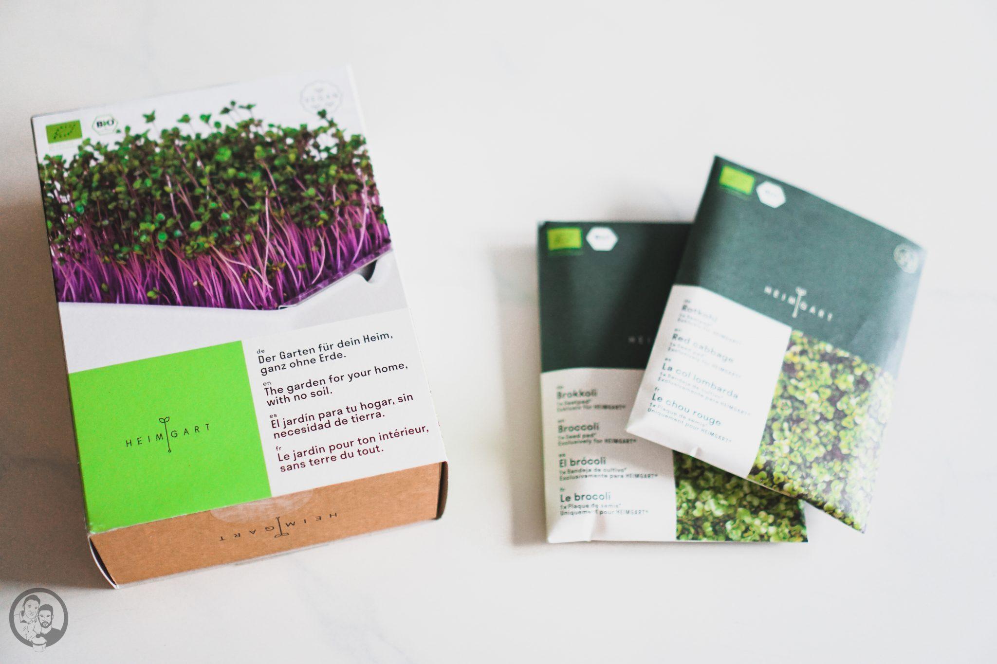 Microgreens Verpackung